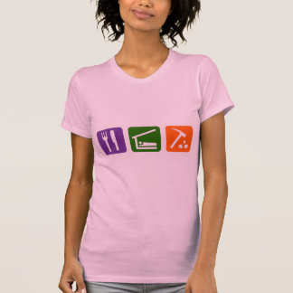T-shirt Mangez l'archéologie de sommeil