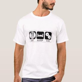 T-shirt Mangez le DAO de sommeil