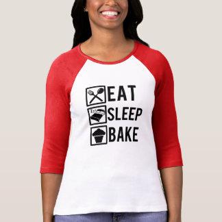 T-shirt Mangez le sommeil font la chemise cuire au four