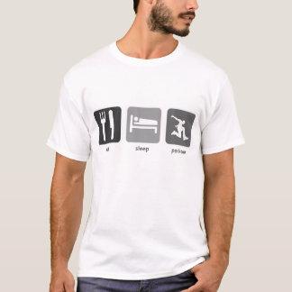 T-shirt Mangez le sommeil Parkour