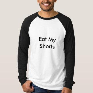 T-shirt Mangez mes shorts