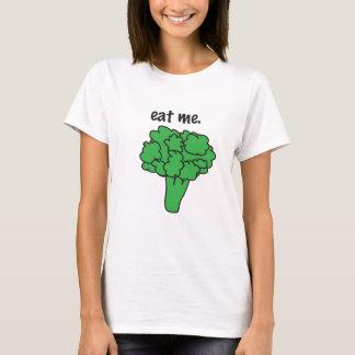 T-shirt mangez-moi. (brocoli)