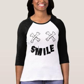 T-shirt Mangues Raglan 3/4 Smile