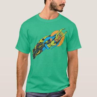 T-shirt Manhunter martien effectue le vol