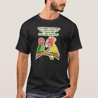 T-shirt Manière de perroquet et d'oiseau de perruche
