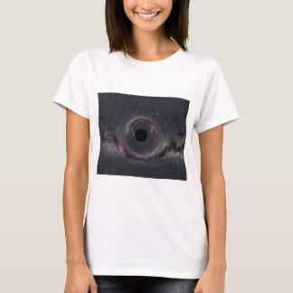 T-shirt Manière laiteuse de trou noir