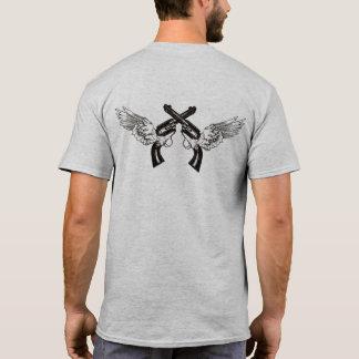 T-shirt Manieur de pistolet à ailes par ange