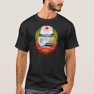 T-shirt Manteau de la Corée du Nord des bras