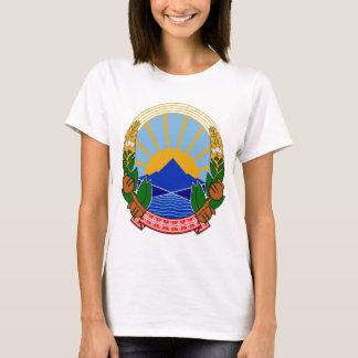 T-shirt Manteau de Macédoine des bras