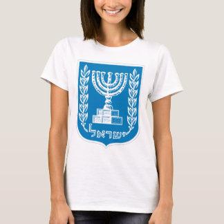 T-shirt Manteau des bras de l'Israël - du joint et du