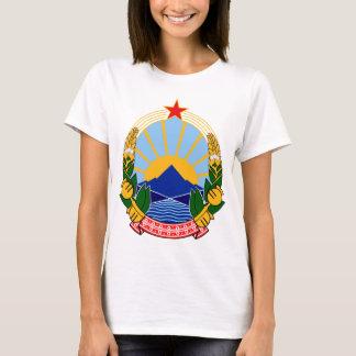 T-shirt Manteau des bras du SR Macédoine