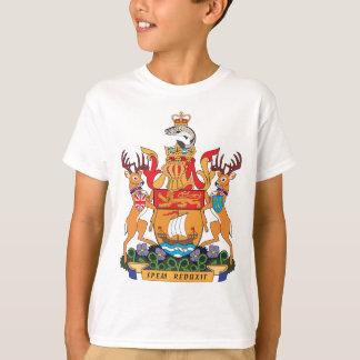 T-shirt Manteau du Nouveau Brunswick des bras
