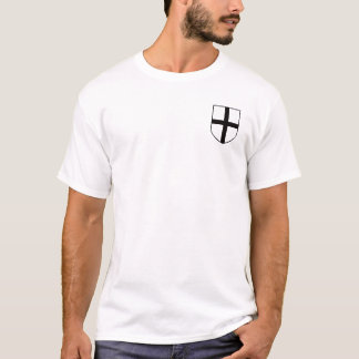 T-shirt Manteau Teutonic de chevaliers des bras/de chemise