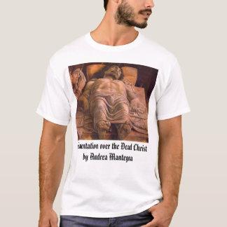 T-shirt mantegna, lamentation au-dessus du Christby mort…