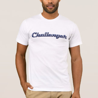 T-shirt Manuscrit de chrome de challengeur