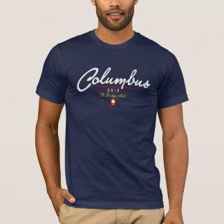 T-shirt Manuscrit de Columbus