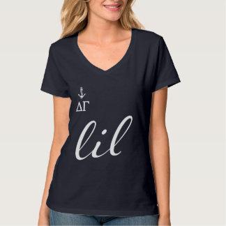T-shirt Manuscrit du gamma | Lil de delta