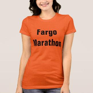 T-shirt Marathon de Fargo
