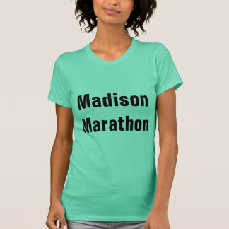 T-shirt Marathon de Madison