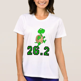 T-shirt Marathon drôle de tortue