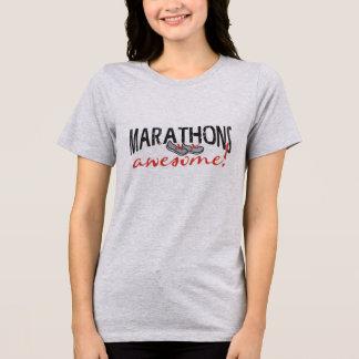 T-shirt Marathons impressionnants !