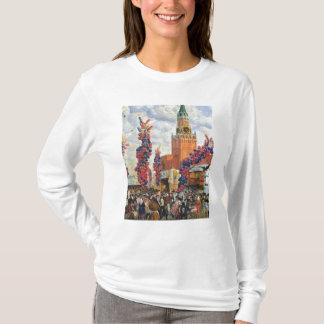 T-shirt Marché de Pâques à Moscou Kremlin, 1917