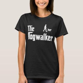 T-shirt Marcheur de chien