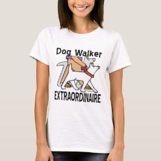T-shirt Marcheur de chien Extraordinaire
