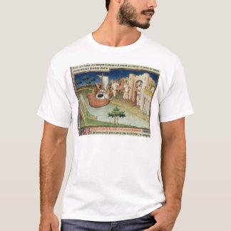 T-shirt Marco Polo avec l'arrivée d'éléphants et de