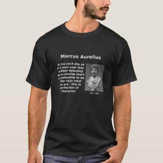 T-shirt Marcus Aurelius, perfection de caractère