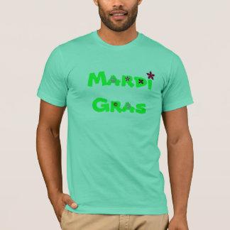T-shirt Mardi gras vert