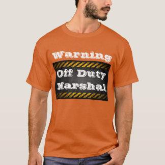 """T-shirt """"Maréchal qui n'est pas de service"""" par le"""