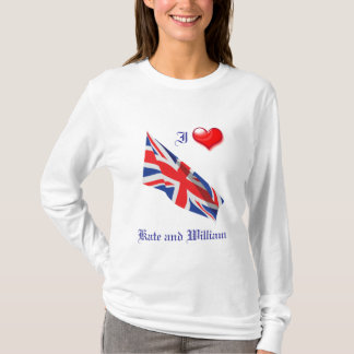 T-shirt Mariage royal/Kate et William