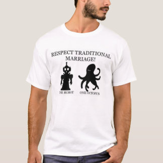 T-shirt Mariage traditionnel