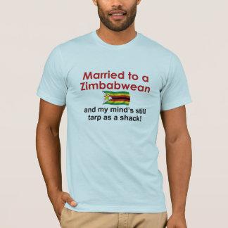 T-shirt Marié à un zimbabwéen…