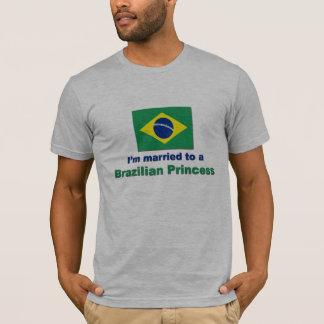 T-shirt Marié à une princesse brésilienne