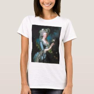 T-shirt Marie-Antoinette avec le rose par Elisabeth Lebrun
