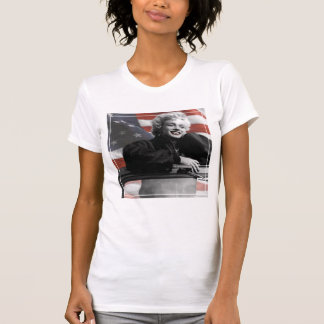 T-shirt Marilyn patriote