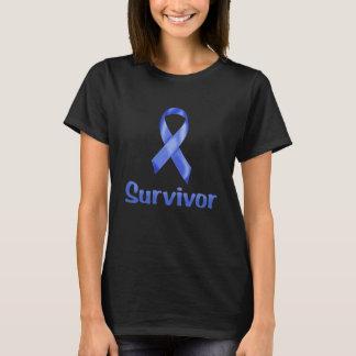 T-shirt Marine de survivant de Cancer