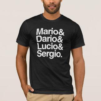 T-shirt Mario& Dario& Lucio& Sergio