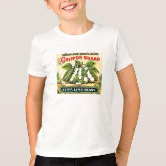 T-shirt Marque de griffon - étiquette vintage de caisse