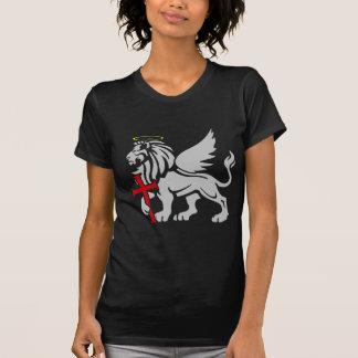 T-shirt Marque de saint l'emblème de bouclier d'apôtre