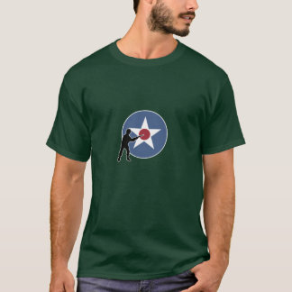 T-shirt Marqueur et infanterie de pays d'A&A Etats-Unis