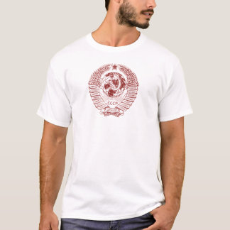 T-shirt Marteau de Russie soviétique et joint de faucille