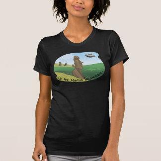 T-shirt martien de descendants