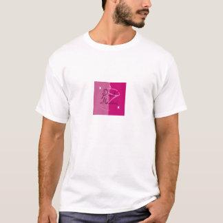 T-shirt Martini rose