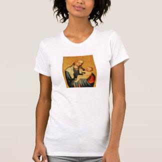 T-shirt Mary et bébé saints Jésus