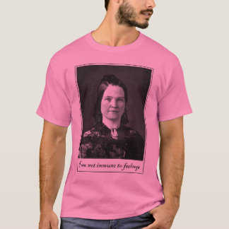 T-shirt Mary todd Lincoln - histoire bue