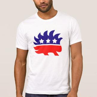 T-shirt Mascotte libertaire de porc-épic
