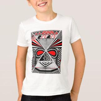 T-shirt masque africain 1
